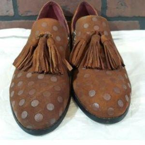 L'Artiste Spring Step Womens Polka Dot Shoes 9.5